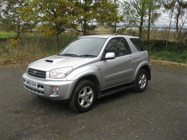 2002 TOYOTA RAV4 D-4D NRG 4WD 2.0 TURBO DIESEL FTSH LADY OWNED FROM NEW