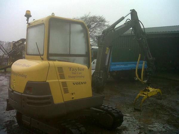 Volvo EC25 mini digger, excavator, dumper NO VAT