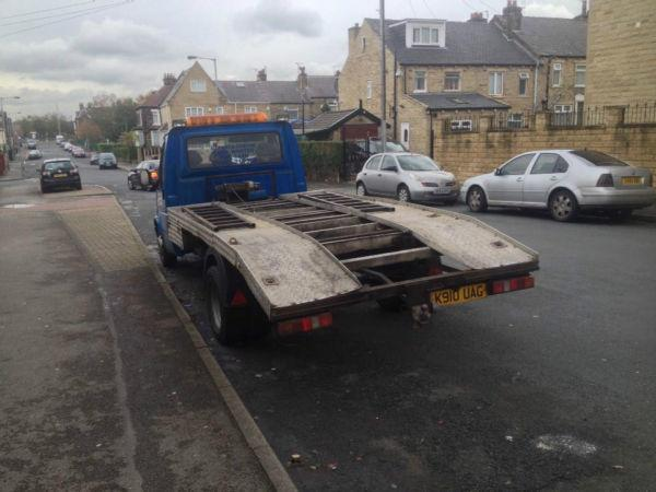 FORD TRANSIT RECOVERY TRUCK LONG TAX AND MOT