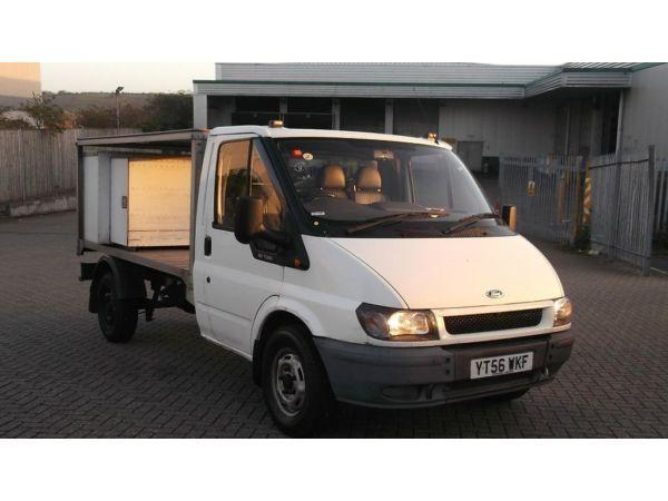 TRANSIT 350 CHASSIS CAB 2006/56 MILK FLOAT NO VAT