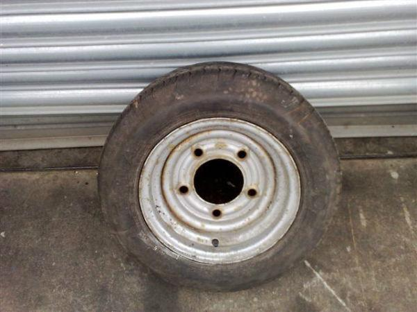 Part Worn Trailer Wheels & Tyres To Fit Ifor Williams Hudson Dale Kane