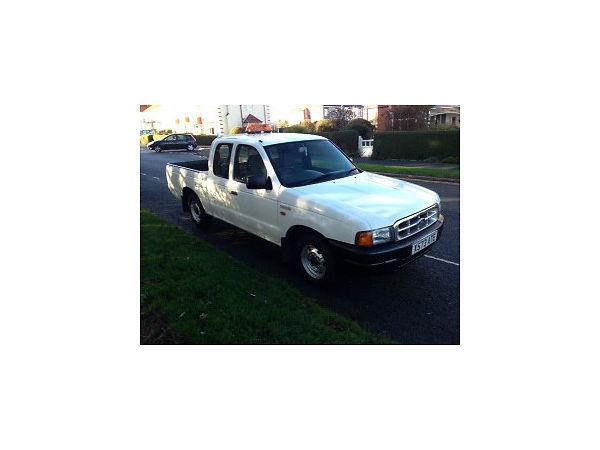 2000 White Ford Ranger Super Cab first to see will buy 12 months mot, 4 new tyres just serviced