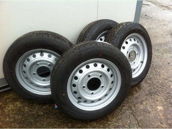 Trailer wheels tyres parts Ifor Williams nugent dale Kane hudson indespension