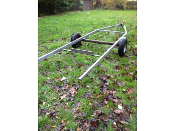 Caravan base / chassis ideal boat trailer