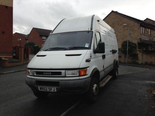 Iveco daily 65c15 6.5 tonn 2002 02 great big van