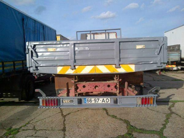 Left hand drive Iveco Eurocargo 150E18 15 ton tipper on springs suspension. Year: 1993