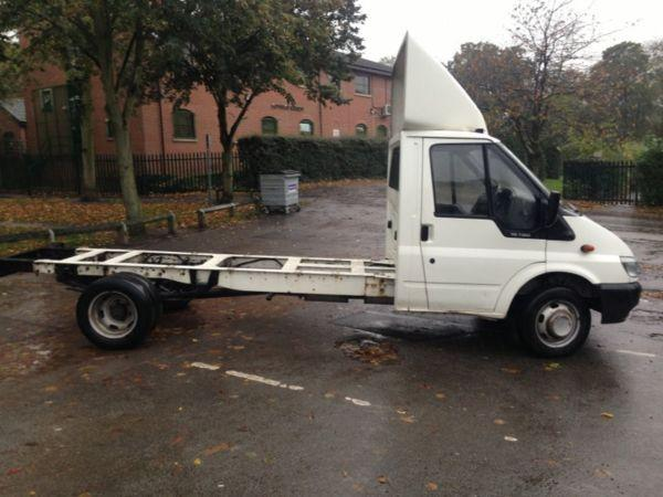 2006 ford transit 2.4 td 115 chassis cab , recovery, horse box , Luton