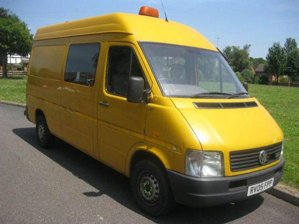 VOLKSWAGEN LT 2461 cc High Roof Van 2.5 Turbo 109Bhp 8 SEATER MWB WINDOW VAN