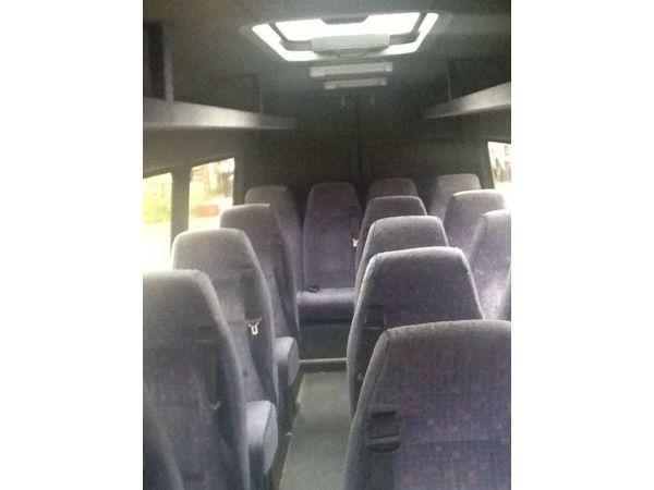 2000 MERCEDES SPRINTER 410 TWIN WHEEL 17 SEATER