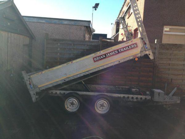 Brian James Tipping Trailer - 3 Years Old, Good Condition