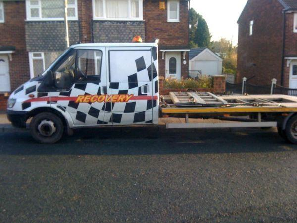 FORD TRANSIT DOUBLE CAB RECOVERY TRUCK 17ft ALLOY BODY