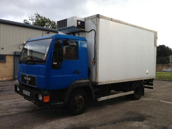 man 8163 14ft fridge boxvan 2001/x reg