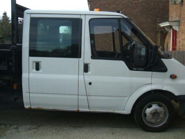 FORD TRANSIT D/CAB CHASSIS TDCI 100PS [DRW] DIESEL