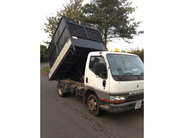 Mitsubishi canter 2.8 Td mwb tipper x reg 2001 twinwheeler mot a tax
