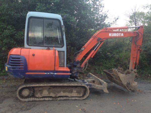 Kubota excavator / digger