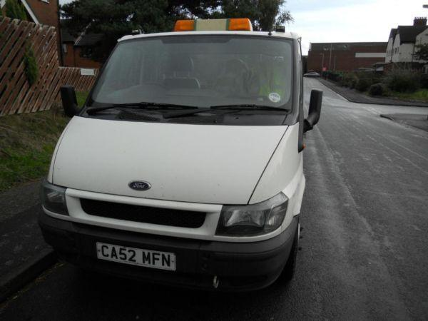FORD TRANSIT 125 350 MWB RECOVERY 2003