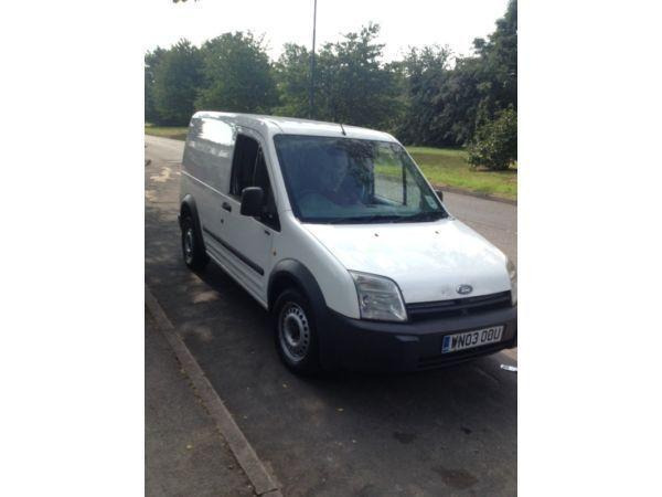 Ford transit connect white 1.8 tddi full tax and mot