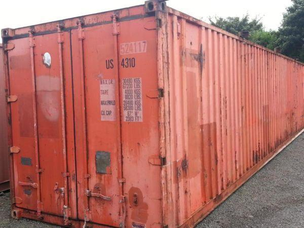 SHIPPING CONTAINER 40FT