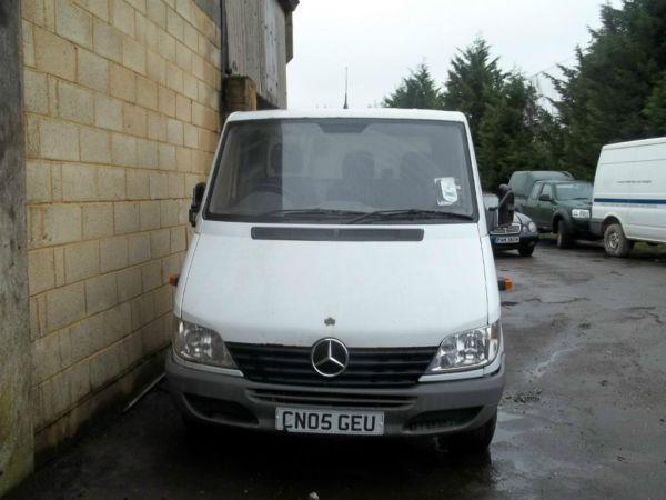 Mercedes Sprinter 311 CDI Single Rear Wheel Chassis Cab