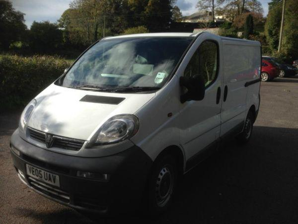 2005 Vauxhall Vivaro 100bhp 6 speed (NO VAT)