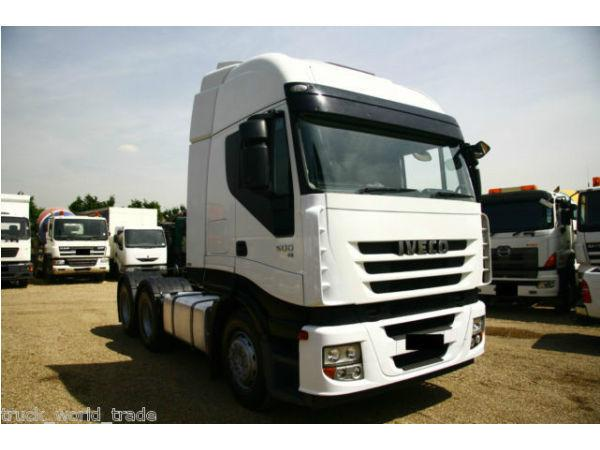 2008 IVECO 6X4 EURO 5 DOUBLE DRIVE TIPPING GEAR TIPPER DAF MAN ACTROS 500
