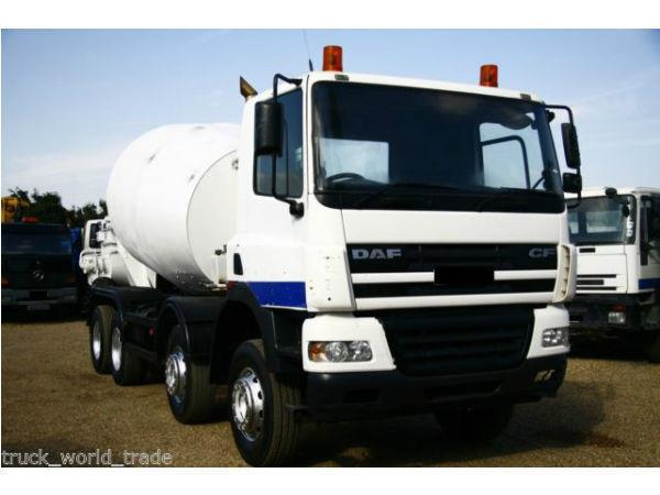 2003 DAF CF 85 340 8X4 CONCRETE MIXER TRUCK LIEBHERR MIX MAN TIPPER MAN MORTAR