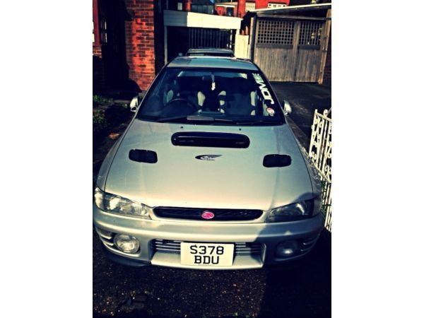 Subaru Impreza Turbo 2000 UK Model, MOT 03/14, TAX 01/14.