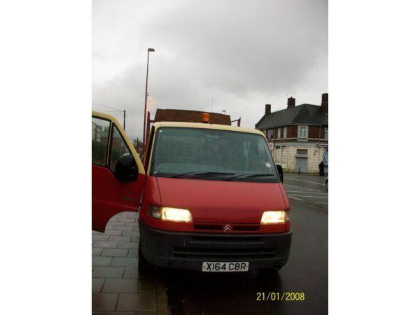 Van for sale ... Tipper Relay 2.5D LWB