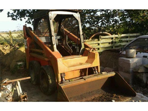 Thomas t173 skidsteer loader for spares or repair