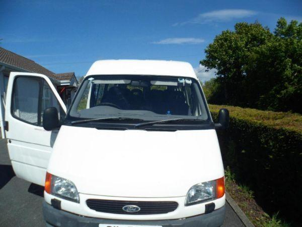 ford transit mini bus 15 seater