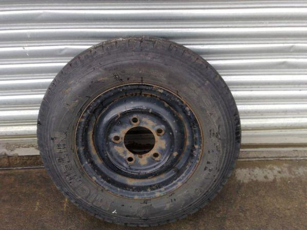 Part Worn Trailer Wheels & Tyres To Fit Ifor Williams, Hudson, Nugent