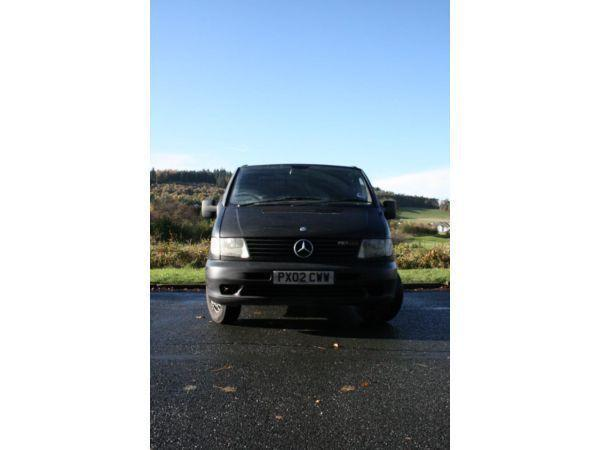 **Price drop** 2002 Mercedes Vito 110 MK1, Matte Black MOT 3/14 Tax 8/14