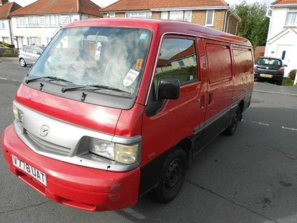 2000 MAZDA E2200 VAN, DIESEL, DOUBLE DOOR, LOW MILEAGE, MOT AND TAX, GOOD CONDITION