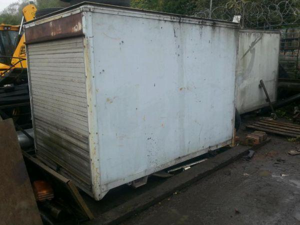 Ex bt van boxes not shipping containers
