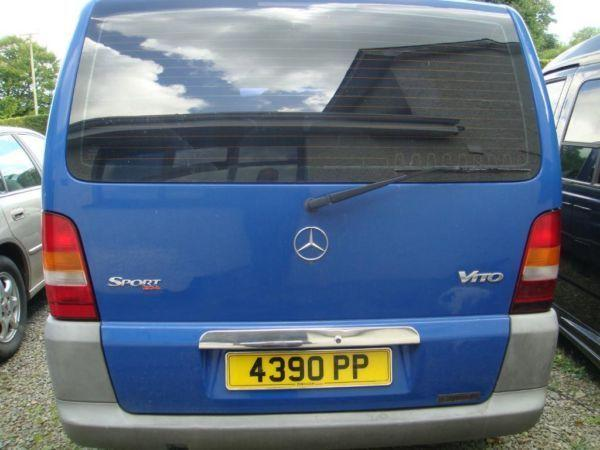 Mercedes Vito Dualiner 110 Auto Ramp Blue 33152m lots of extras