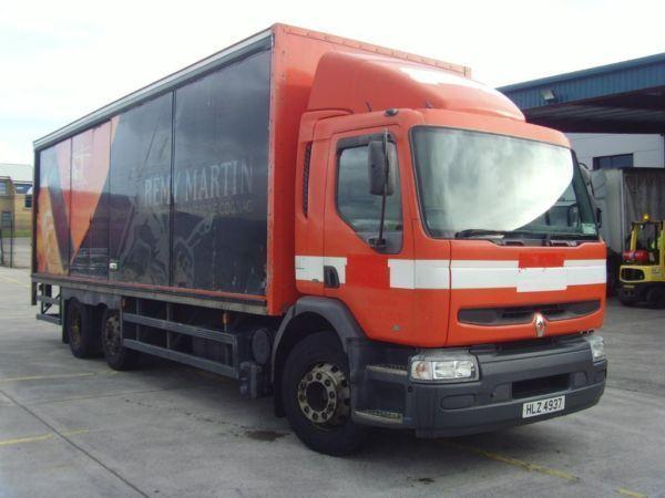 2001 renault premium 250bhp 6x2 mid lift 324k 28ft link liner 2ton tail lift