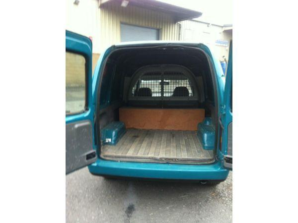VW Caddy 1.4, years MOT, gas installation LOW MILES!!!! Very Cheap To Run!
