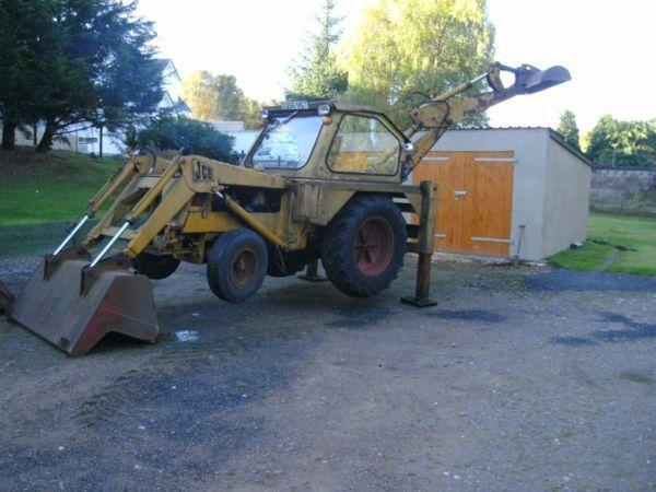 Collectable JCB 3 1961 full working order