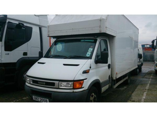2004 Iveco Daily 45C13 C/C 4.3M Luton Body Twin Wheel Removal Van 4.5 Tonne FULL PSV