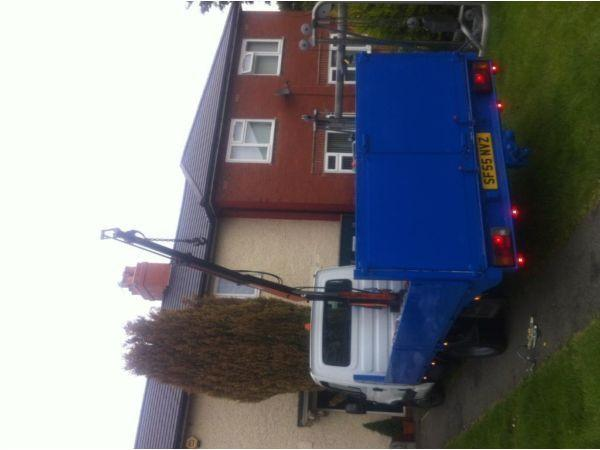 Iveco daily pickup with hiab
