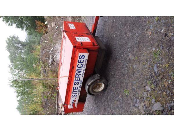 Silent Diesel Generator Tow Behind