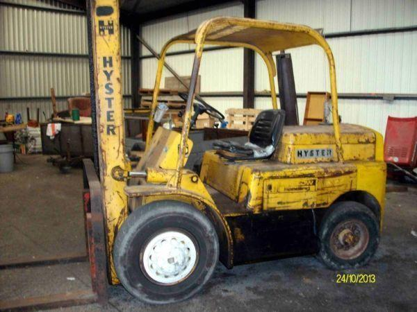 Hyster H60-c Diesel fork lift needs attention