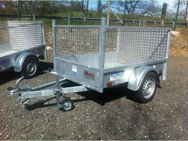 dale kane 6 x 4 type approved trailer for garden and lawnmower ( not ifor williams nugent hudson )