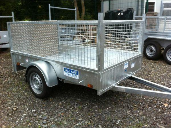 dale kane fully welded 7 x 4 trailer for lawnmowers etc ( not ifor williams nugent hudson )