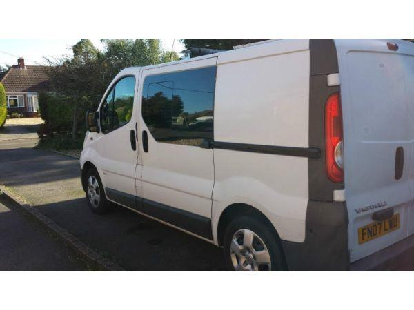 Vauxhall Vivaro, Factory Crew Van, 2.0 CDTI, SWB. ONLY 67,000 Miles. FSH. NO VAT