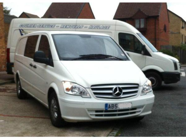 Mercedes Vito 111 dualiner xlwb extra sat nav, subs, amplifier, tool chest, beacon, crusie control