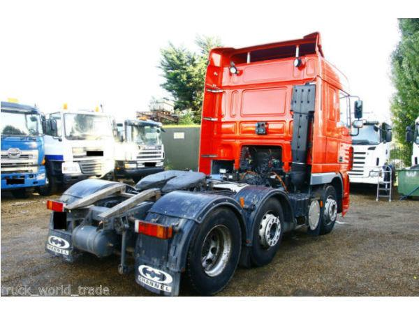 2005 DAF XF 95.480 6X2 TRACTOR UNIT TIPPER TIPPING GEAR MAN VOLVO SCANIA ACTROS