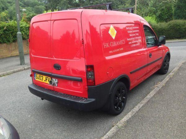 Vauxhall Combo 1.7di best engine 91k 3 owners 2003