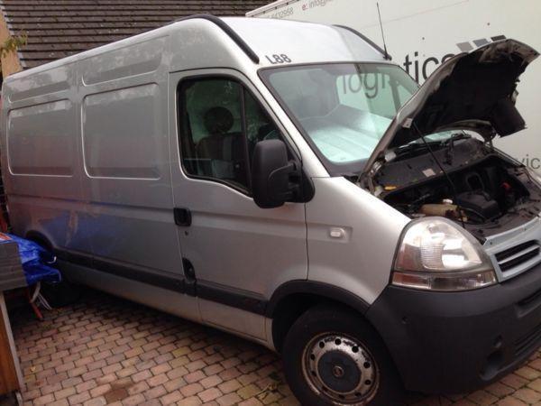 Nissan interstar, vauxhall movano, Renault master