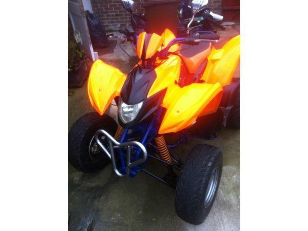 05 Road legal 500cc motorbike engine swap van
